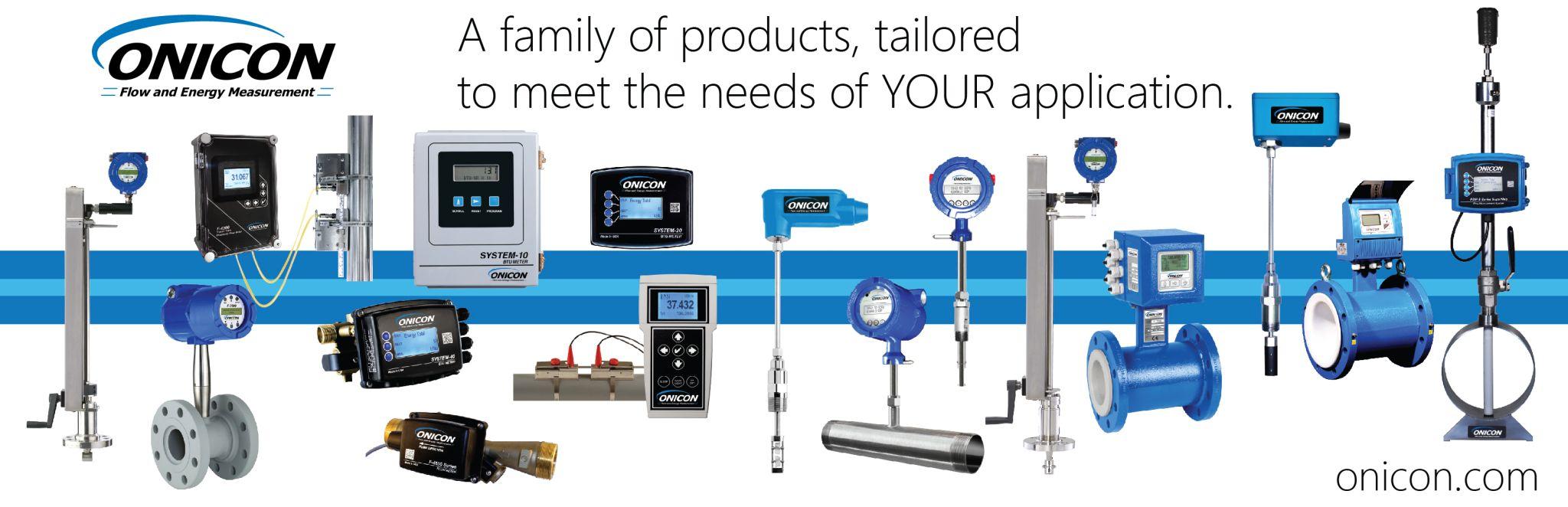 ONICON product range