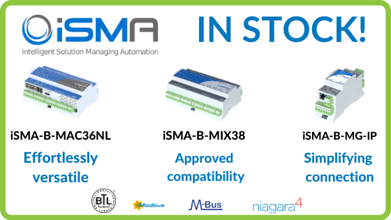 iSMA products in stock at IBC