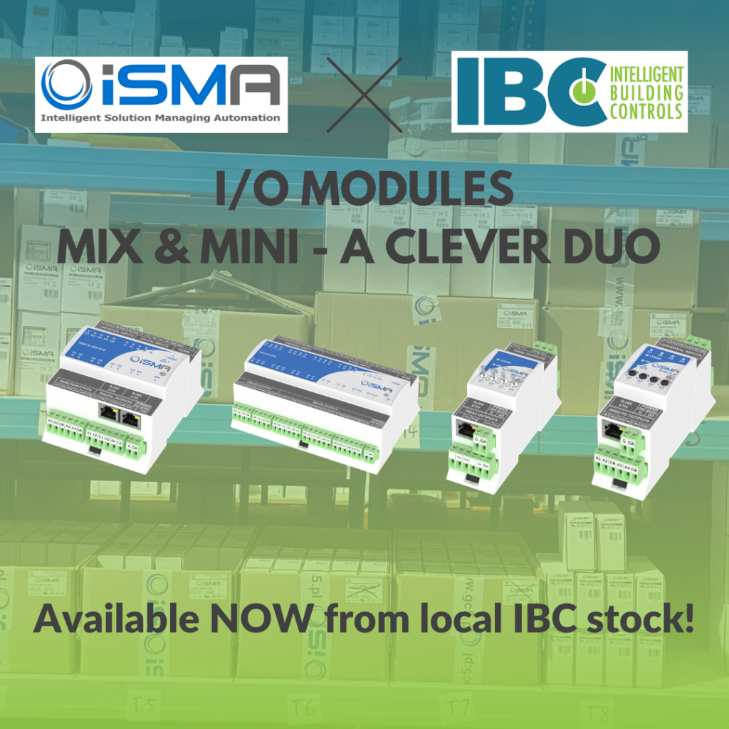iSMA MIX MINI I/O Modules