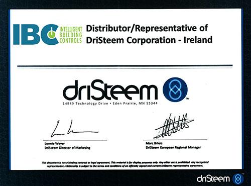 Dristeem Certificate