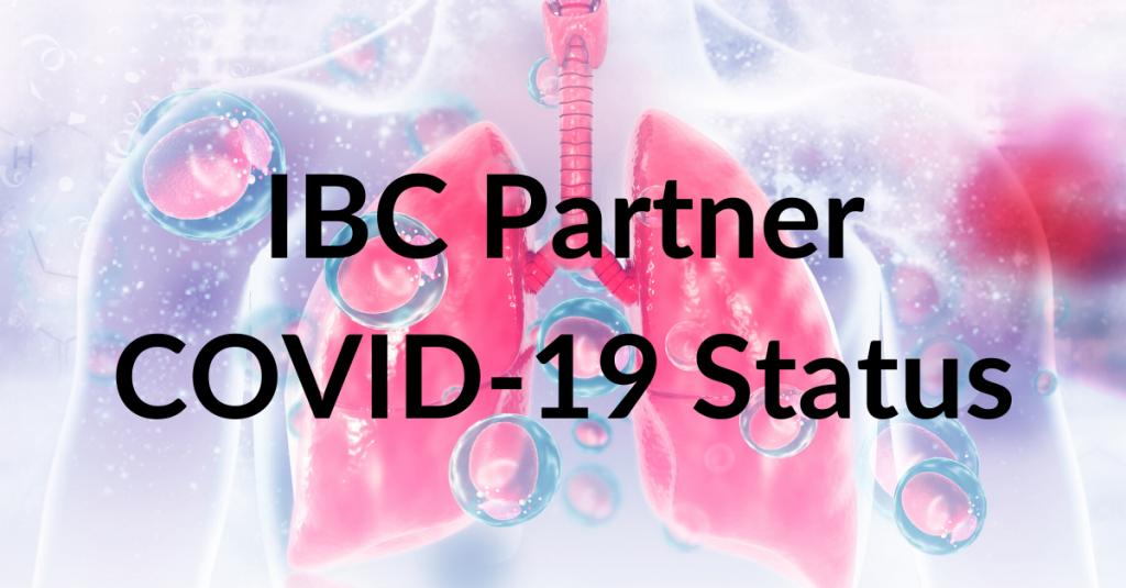 IBC Partner COVID-19 Status