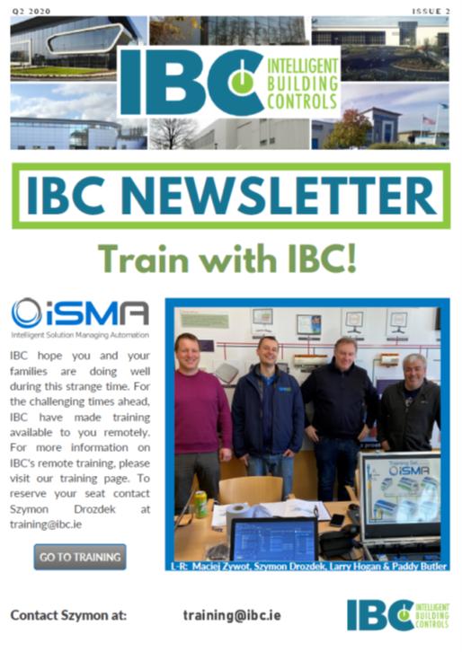 IBC newsletter cover