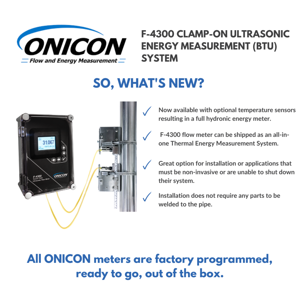 onicon clamp on f-4300