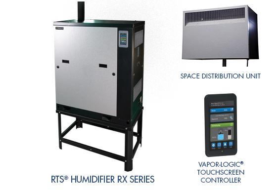 RTS RX humidifier vapor logic