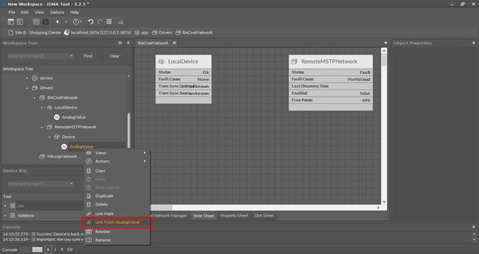 iSMA Tool screenshot