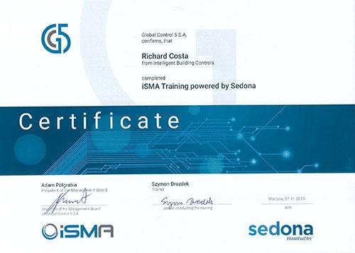 isma certificate
