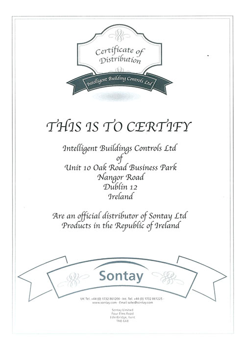 sontay certification