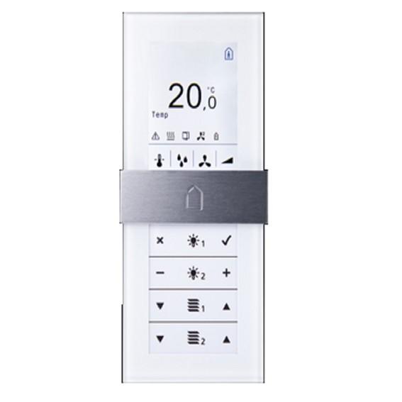 WRF06 LCD AO2V RS485 Modbus ltype1 Gira E2 pure white